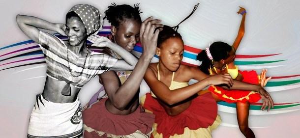 Marioneta africana a fazer recordar a dança da marrabenta em Moçambique!