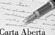 CARTA ABERTA AO PRESIDENTE DA REPÚBLICA -