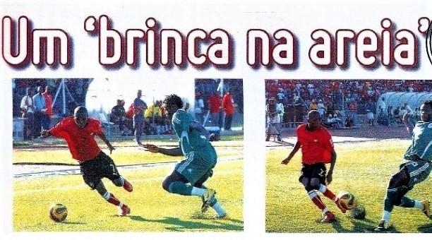 Estrelas de Moçambique (16) – Dominguez – Futebol