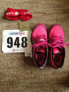 """First """"distance"""" race of 2013.  Ran the Lakefront 10 Miler"""
