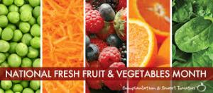 national fruit and veg month