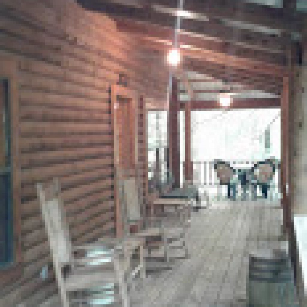 Side porch