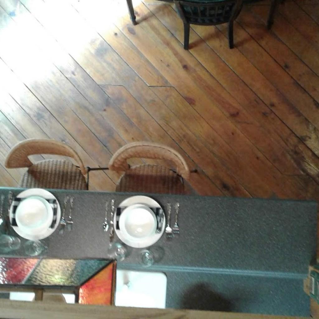 Loft view of Breakfast Bar