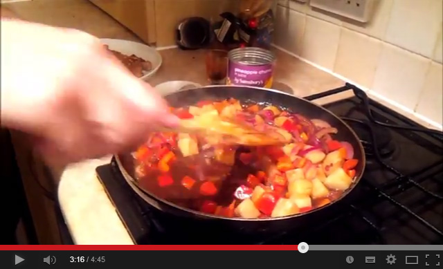 sweet and sour pork video on youtube