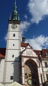 The town hall tower in Olomouc