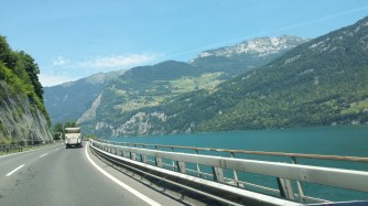 Walensee from the motorway