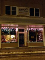 Larry's Refrigeration & Heating and The Granary's Entry in Business Lighting Contest