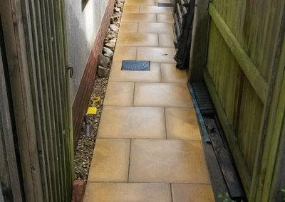 Patio Pressure wash