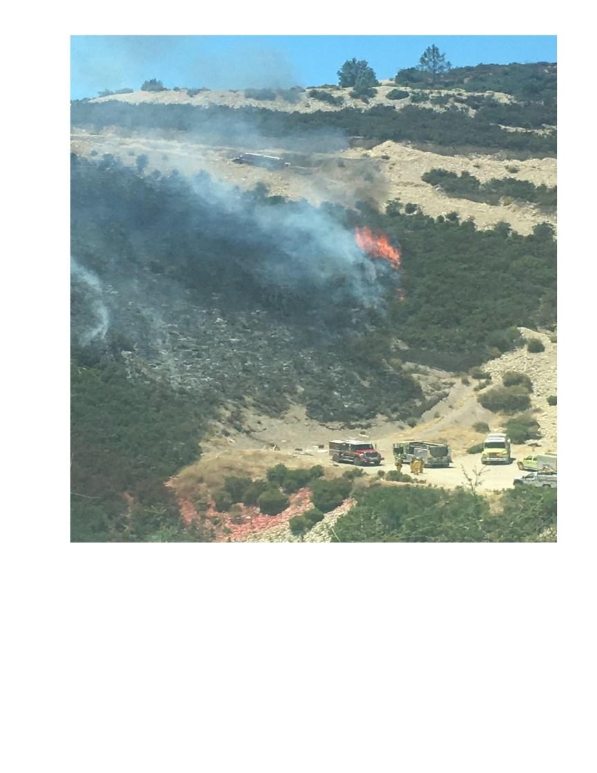 Fire in Lockwood
