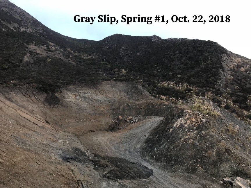 Gray Slip, Oct. 2018