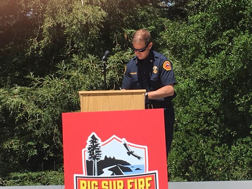 Big Sur Fire – 45th Anniversary