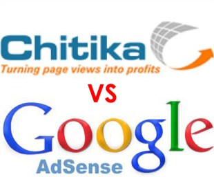 Google AdSense VS Chitika - Comparison
