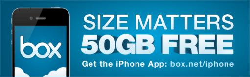Get 50 GB FREE on iPad and iPhone. Get Your Box Now