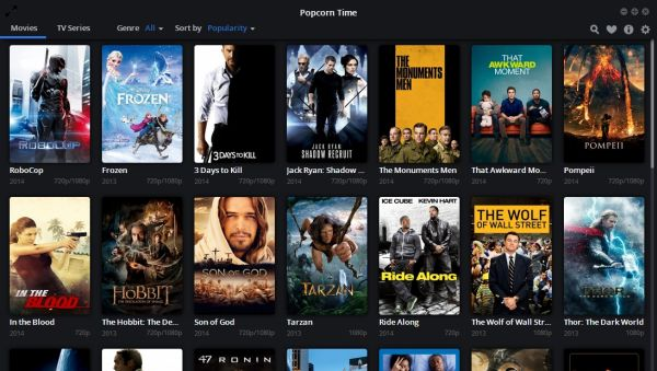 Popcorn Time Free media player to view movies in HD (2)