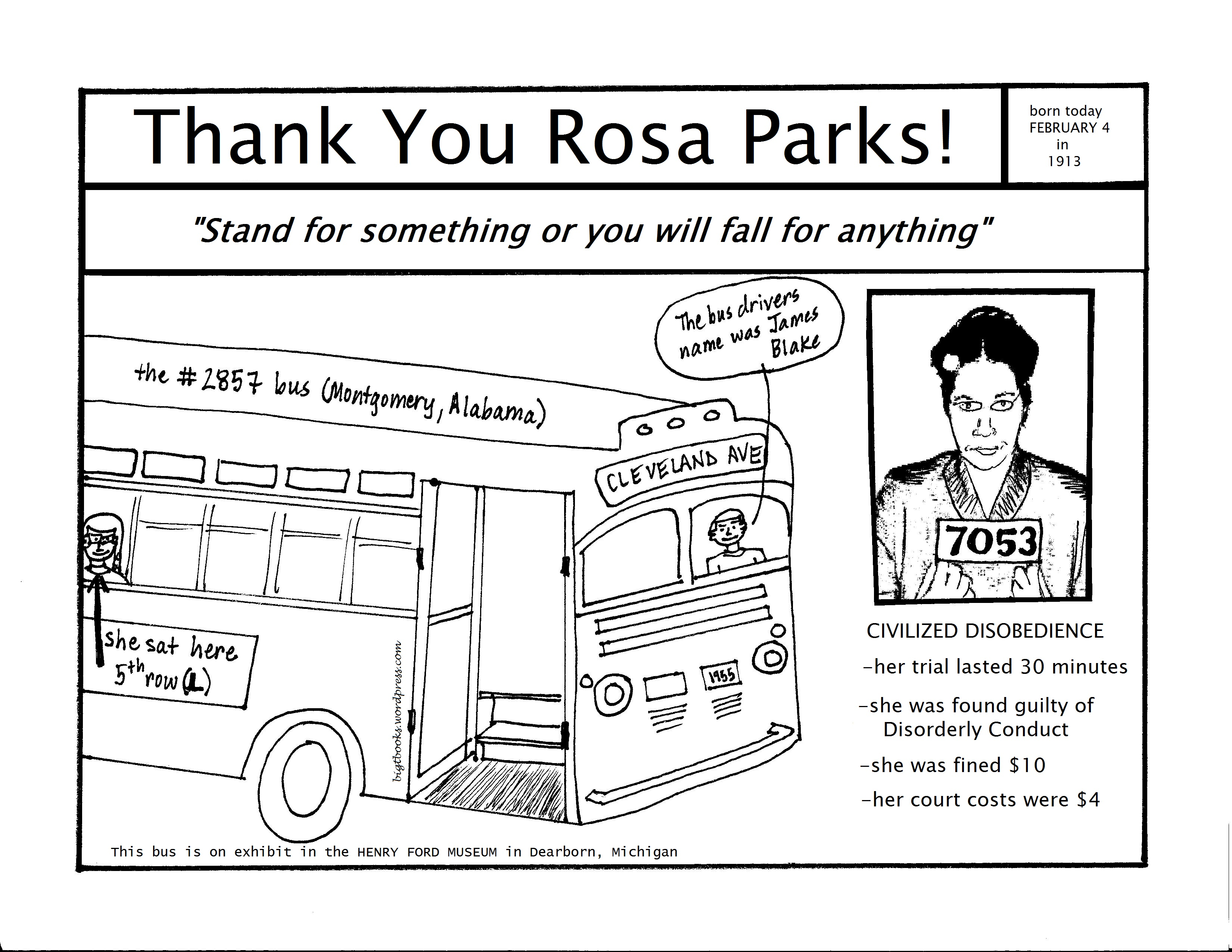 Thank You Rosa Parks