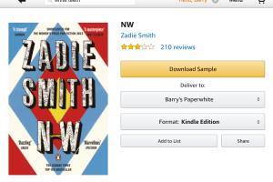 Amazon Kindle book app