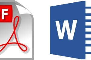 Convert a PDF into a Word document