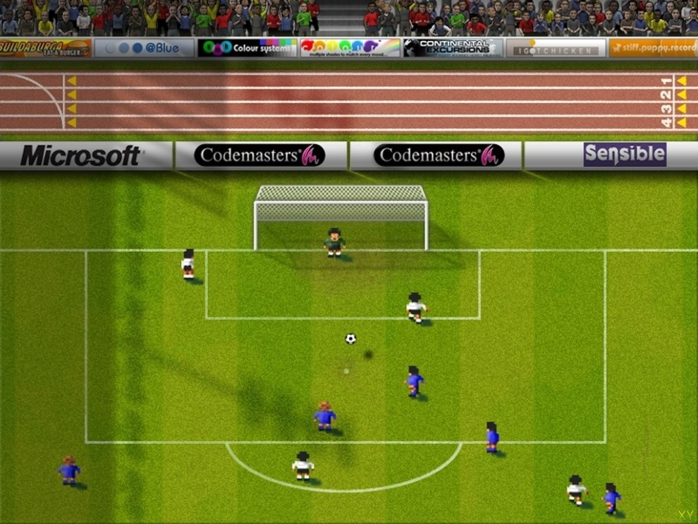 Best ever football videogame: Sensible Soccer