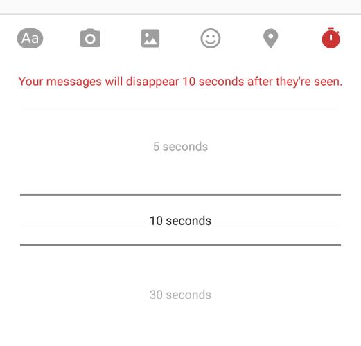 How can I send secret Facebook messages?