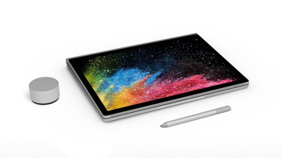 Surface Book 2 looks like this - with Surface Pen