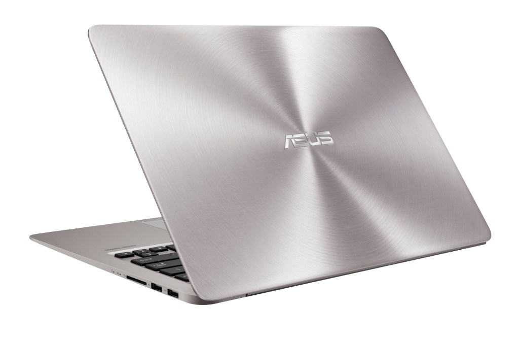 Asus ZenBook UX410UA review - the back view