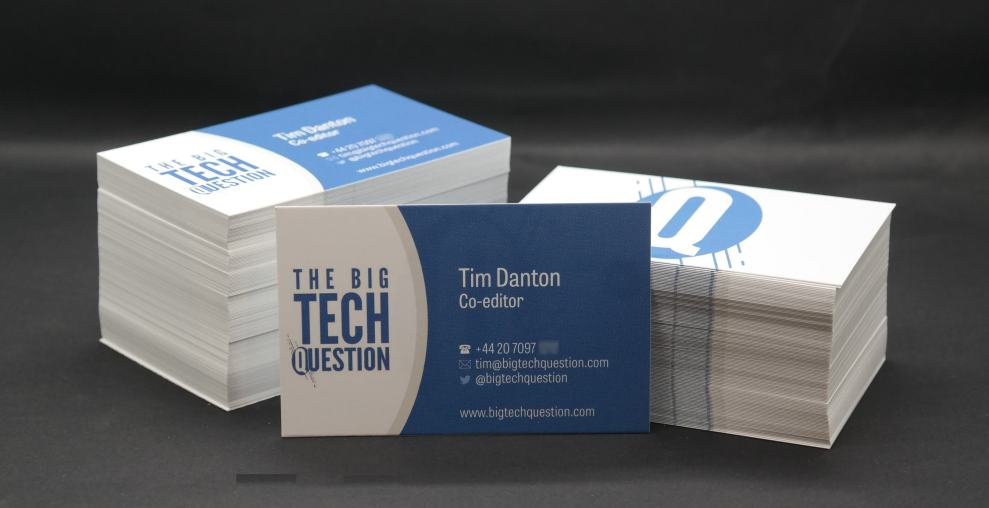 Vistaprint business cards review are they as polished as its vistaprint business cards reheart Images