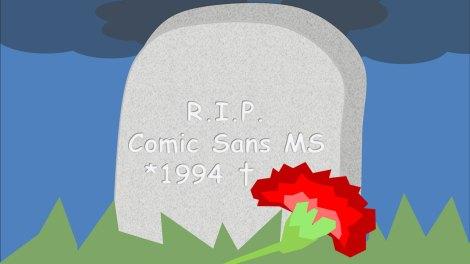 Should you use Comic Sans