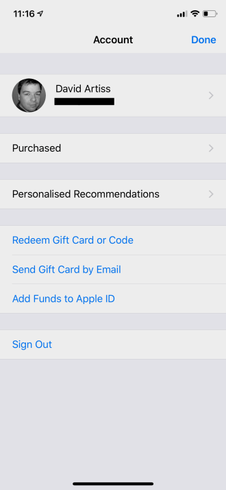 find ios app purchases