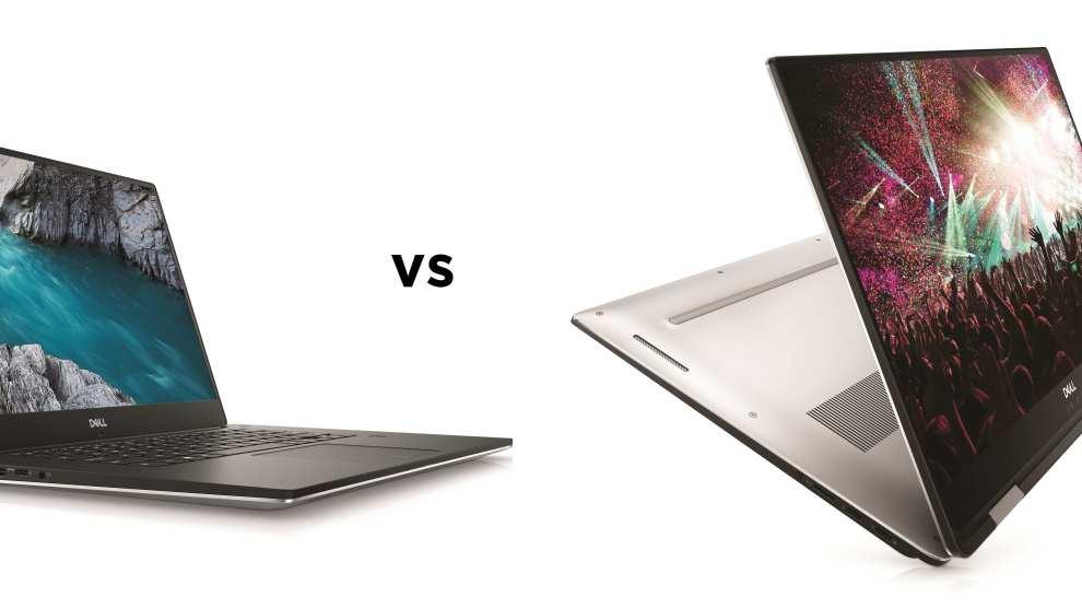 Dell XPS 15 vs Dell XPS 15 2-in-1