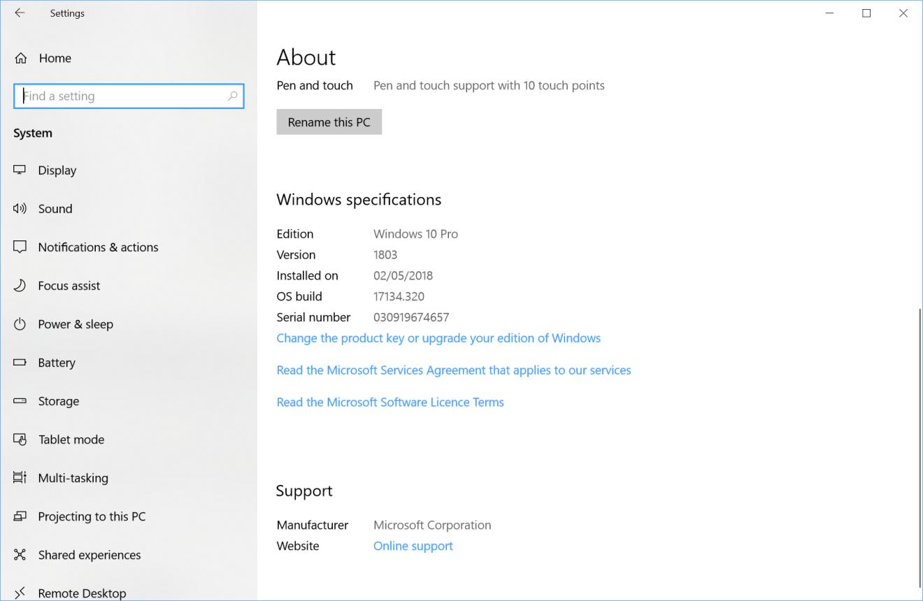 latest Windows 10 update