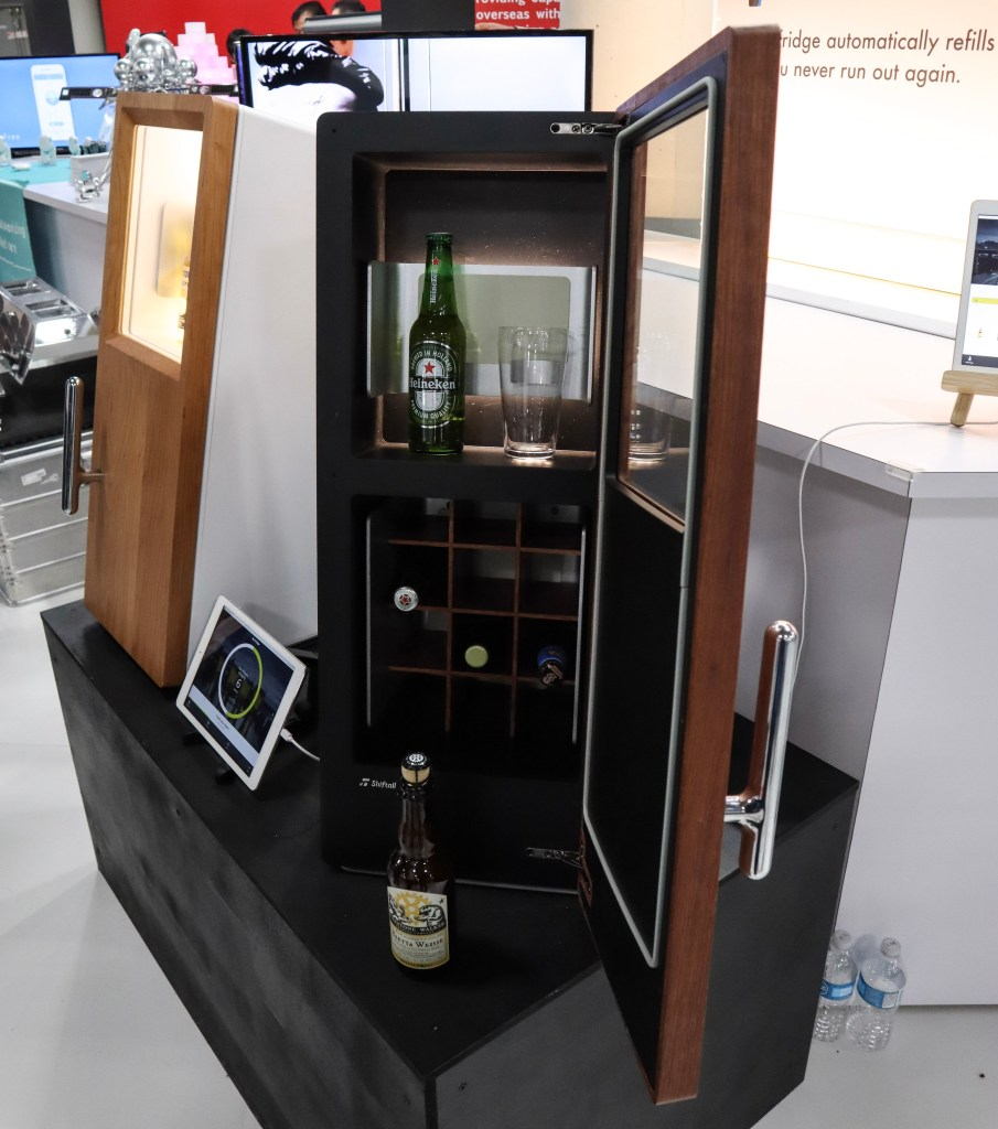 beer fridge that restocks itself