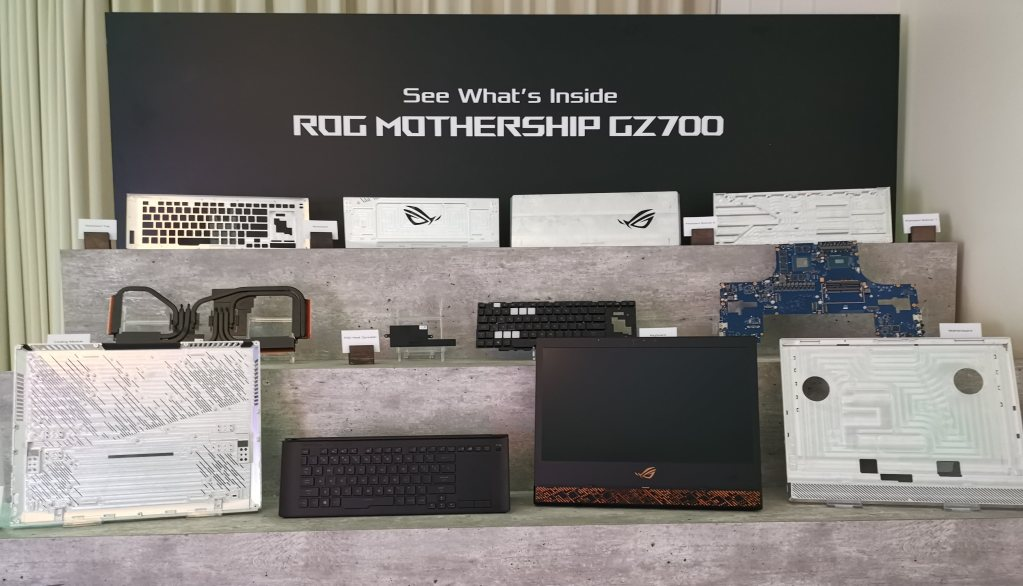 Asus ROG Mothership review: what's inside