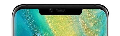 notch on Huawei Mate 20 Pro