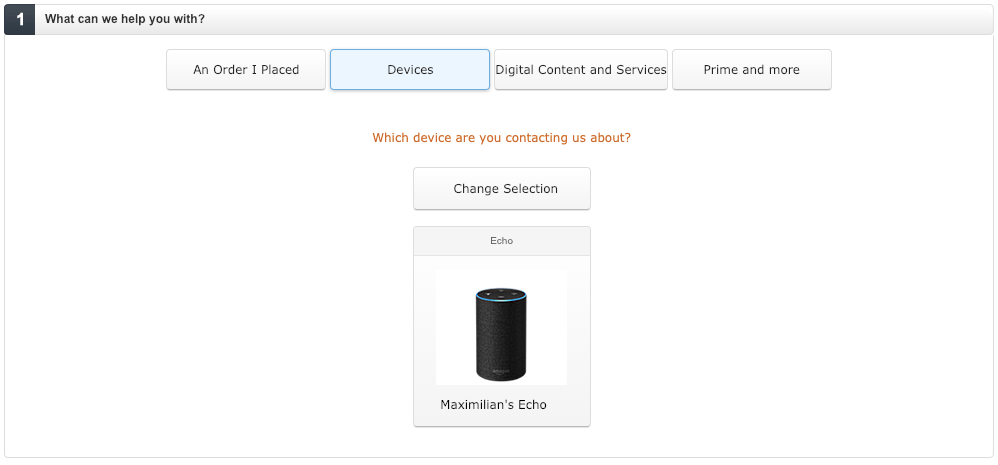 Amazon Echo humming