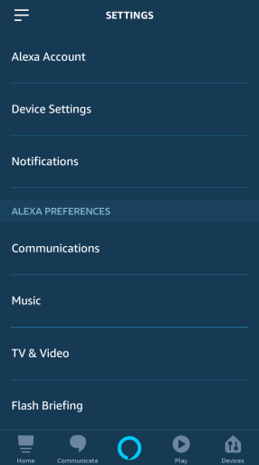 remove Alexa devices