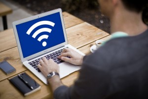 Turn MacBook into a Wi-Fi hotspot