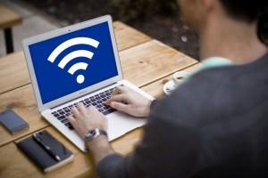 Turn MacBook into a Wi-Fi hotspot