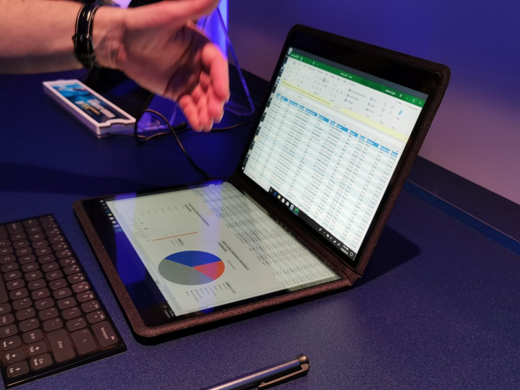 EXCLUSIVE VIDEOS Intel's dual-screen laptop | The Big Tech
