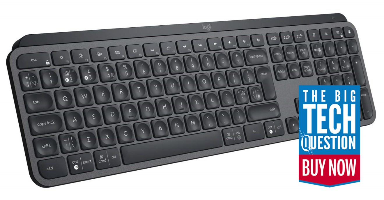 logitech mx keys review