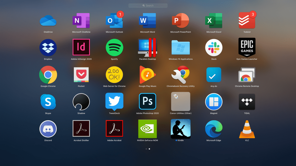 remove Chrome apps from the Mac Launcher