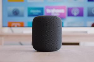 update a HomePod