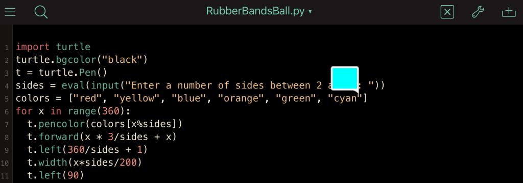 Pythonista 3
