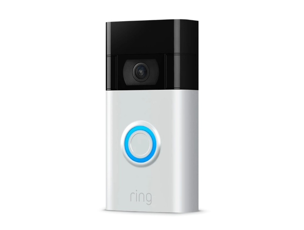 What do the lights on the Ring video doorbell mean?
