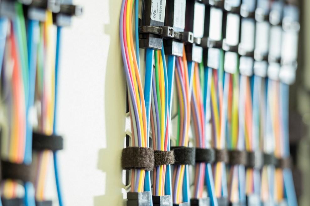 lights openreach full fibre modem