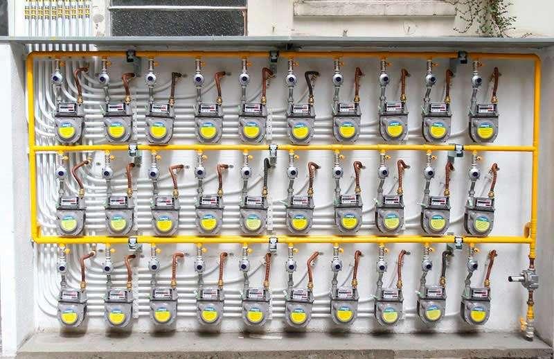 Troca do Quadro de Medidores de Gás