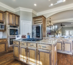 Spacious Kitchen in this Dallas Home for Sale