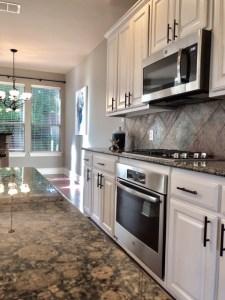 prosper home stainless gas appliances