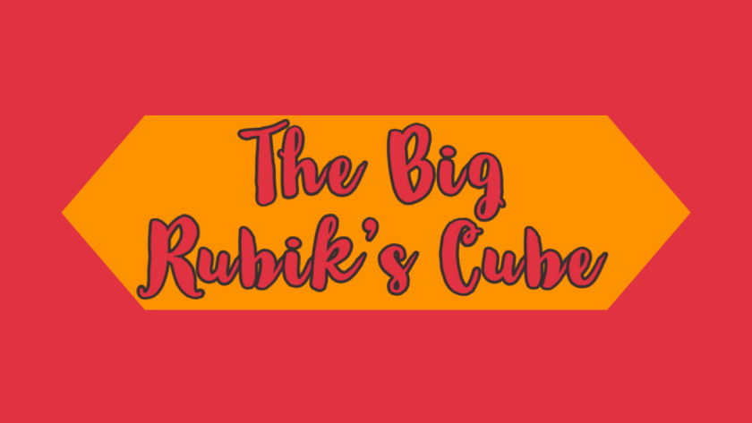 Featured image for the big Rubik's cube