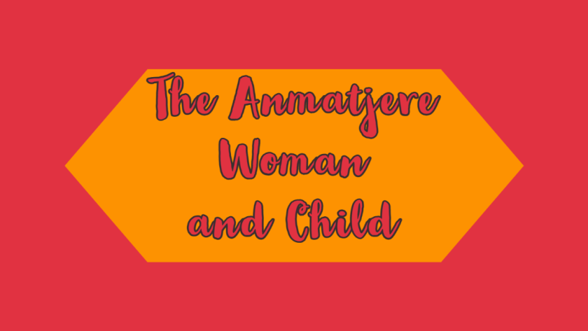 The Anmatjere Woman and Child
