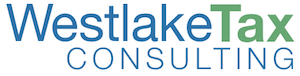 Logo created for Westlake Tax Consulting by BigThunk